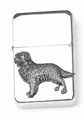 Sheepdog Emblem Windproof Petrol Lighter FREE ENGRAVING Personalised Gift 322