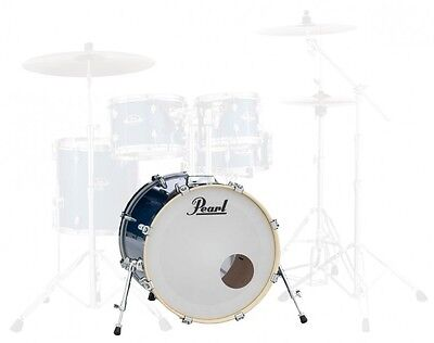 "Pearl Export 22"" x 18"" Bass Drum Electric Blue Sparkle EXX2218B/C702"