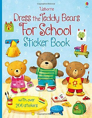 Dress the Teddy Bears for School (Sticker Book),New Condition
