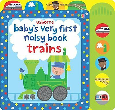 Baby's Very First Noist Book Train (Baby's Very First Books),Excellent Condition