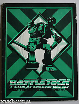BATTLETECH Game of Armored Combat Third Edition FASA Corporation 1992