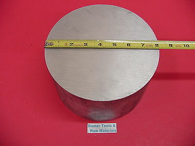 "8"" ALUMINUM 6061 ROUND ROD 3.1"" LONG T6511 8.00"" Diameter Solid Lathe Bar Stock"
