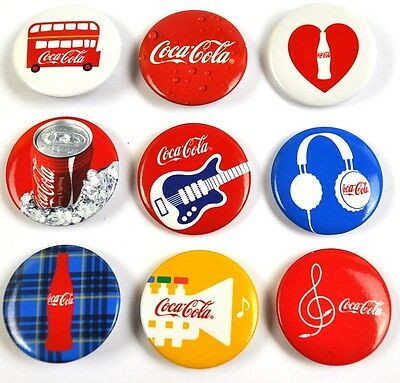 Coca-Cola Coke Pins Anstecknadeln Buttons Japan viele Motive Olympia London 2012