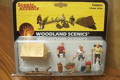 Woodland Scenics Campers O Scale Figures