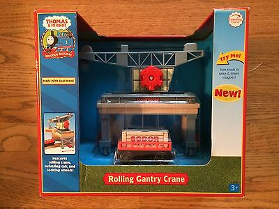 Rolling Gantry Crane for the Thomas & Friends Wooden Railway System New in Box!