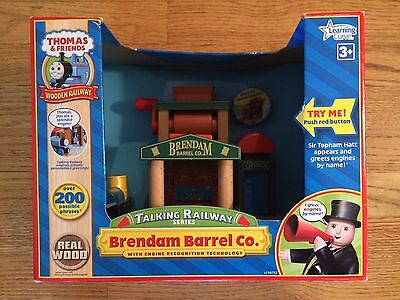 Brendam Barrel Co. for the Thomas & Friends Wooden Railway System New in Box!