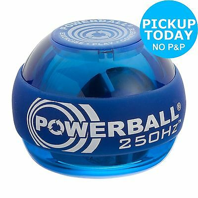 Powerball Classic 250Hz Classic Blue Exercise Ball -From the Argos Shop on ebay