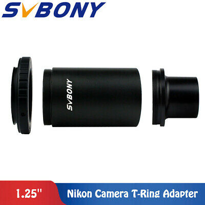 "TOP 1.25"" M42 Thread T-Mount Adapter +T2 Ring for Nikon DSLR/SLR Lens Adapter"