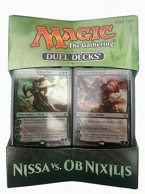 Nissa vs. Ob Nixilis Magic the Gathering Duel Decks englisch MtG Magic Decks