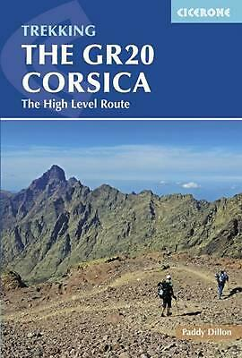 Gr20 Corsica: The High Level Route by Paddy Dillon (English) Paperback Book Free