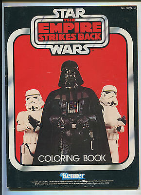 Star Wars The Empire Strikes Back Coloring Book (6.0) Uncolored!