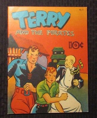 1983 TERRY AND THE PIRATES #2 FVF 7.0 Chicago Tribune Strip Reprints - Caniff