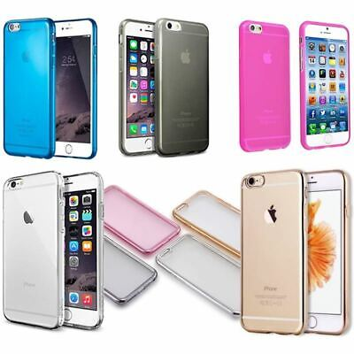 Apple iPhone  7 & 7 Plus Gel Case Cover Transparent Crystal Clear TPU Soft Skin