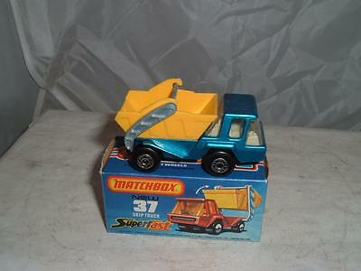 MATCHBOX SUPERFAST #37c ATLAS SKIP TRUCK WITH ITS  BOX SEE THE PHOTOS