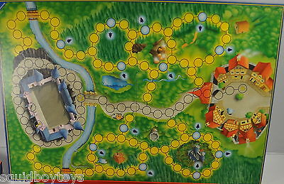 replacement BOARD for ENCHANTED FOREST Board Game 1994 Ravensburger
