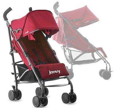 Joovy Groove Ultralight Lightweight Umbrella Baby Stroller Red NEW 2016