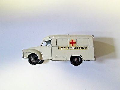 Vintage Lesney Made in England Lomas Ambulance
