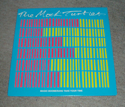 The Mock Turtles - Magic Boomerang   UK 12""