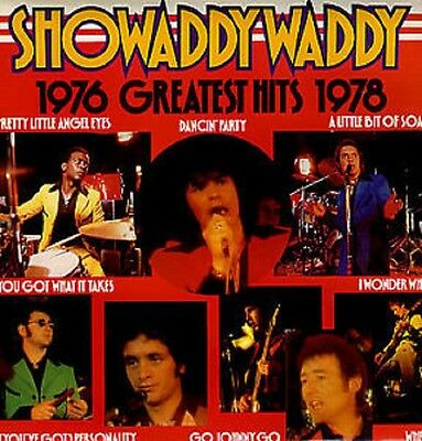 SHOWADDYWADDY Greatest Hits 1976-1978 UK Vinyl LP EXCELLENT CONDITION Best of