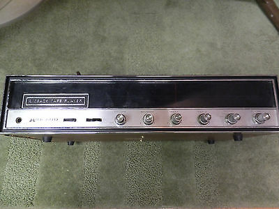 Vintage 8 Track Player with AM/FM Working Made by MidLand International