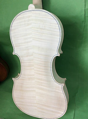 "NEW white viola 16""  STAINER  model nice flamed maple back"