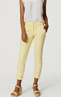 Ann Taylor LOFT Cropped Skinny Chinos Pants in Marisa Fit Various Colors Sizes