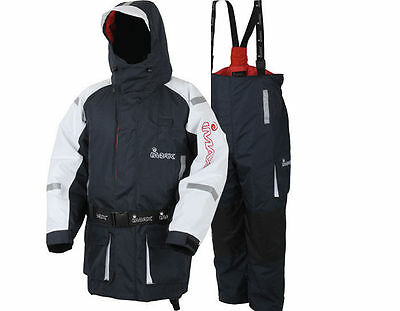 New Imax Coast 2 Piece Flotation Suit Suit All Sizes Sea Beach Boat Fishing