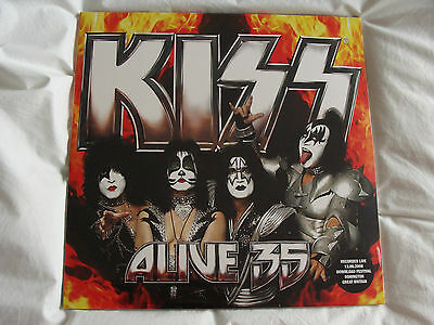 Vinyl Double Album: Kiss : Alive 35 : 2008 Download Festival Donnington : Sealed