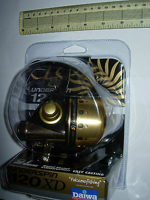 DAIWA UNDERSPIN US1200XD-CP Spincast Fishing Reel 10/12/14lb