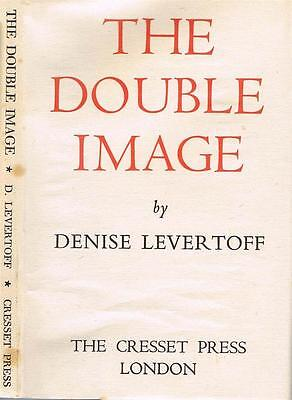 Denise Levertoff The Double Image 1946 First Edition of First Book Near Fine