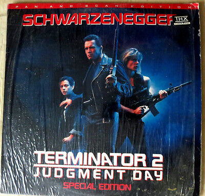 Terminator 2: Judgment Day (1993) Special Edition Laserdisc Pan and Scan