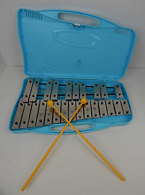 Angel 25-Note Glockenspiel AX-25N2 Student Xylophone with case & Mallets