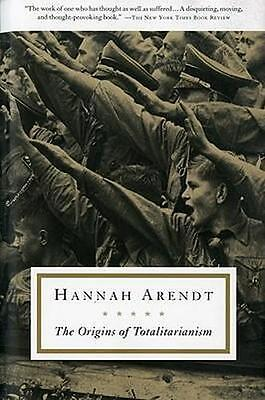 NEW The Origins of Totalitarianism By Hannah Arendt Paperback Free Shipping