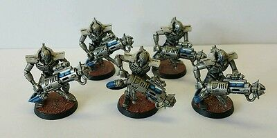 NECRON Immortals x 5 well painted (A) Warhammer 40k