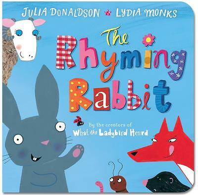 NEW The Rhyming Rabbit By Julia Donaldson Board Book Free Shipping
