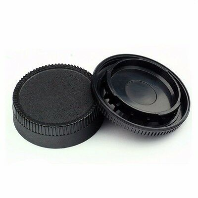 New Body Front + Rear Lens Cap Cover For Nikon AF AF-S Lens DSLR SLR Camera IL