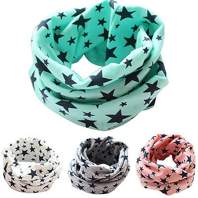 Stylish Unsex Kids Boy Girl Neckerchief Scarves Winter Warm Knitting Shawl