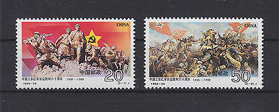 China VR 2772-2773 ** postfrisch, Rote Armee, MNH -RA425