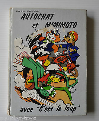 MOTORMOUSE & AUTOCAT French Story Book HANNA BARBERA 1973