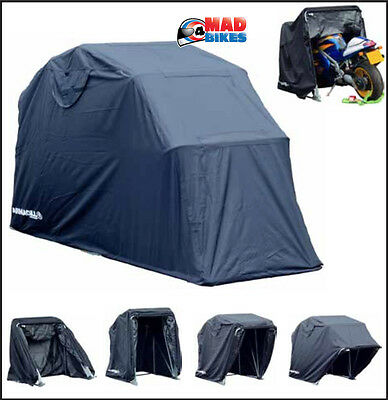 Motorcycle Motorbike Shed Storage Cover Garage Shelter  - Small 270x105x155cm