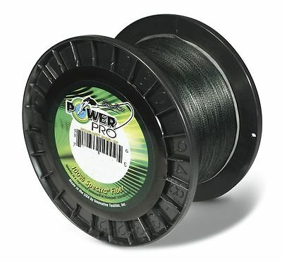 Power Pro Spectra Braided Fishing Line 50 lb Test 1500 Yards Yds Moss Green 50lb
