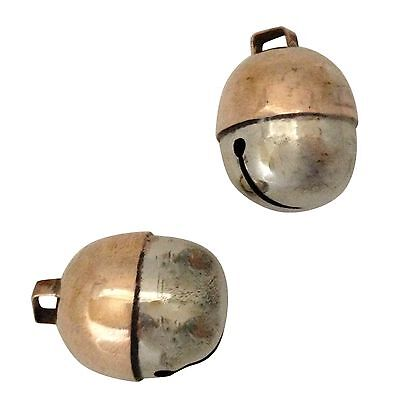 New Hand Made Nickel Plated Falcon Bells Falconry Lightweight Owl Clear Tone