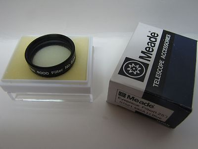 "1.25"" Meade LT Blue #82A Telescope Eyepiece Filter Series 4000 Glass Coated NEW!"