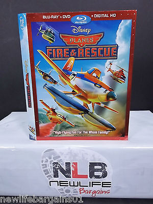 Disney PLANES Fire & Rescue Blu ray Slip Cover(Collector's Item)