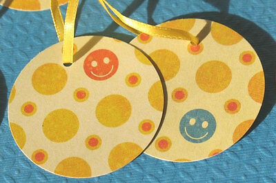 Smiles - Any Occasion Round Gift Tags