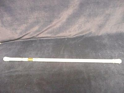"BRAND NEW UNOPENED UNUSED WHITE 36"" - 63"" spring tension shower curtain rod"