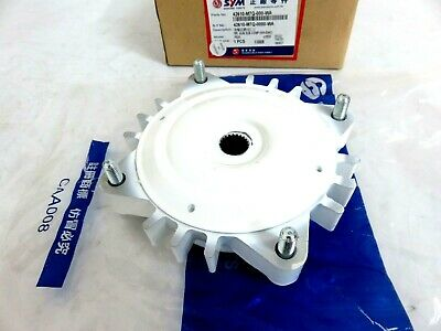 OEM SYM Fiddle 50, Mio 50 - Rear Wheel Hub Sub Comp White PN 42610-M7Q-000-WA