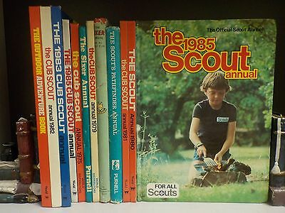 The Scouts & Cubs Annuals - 12 Books Collection! (ID:37943)