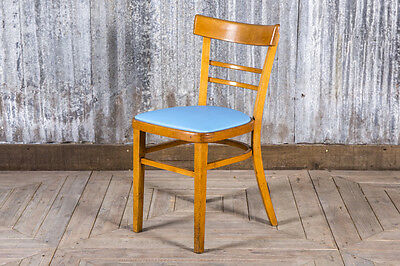 Vintage Upholstered Wooden Chairs Blue Upholstered Dining Chairs Restaurant Sea