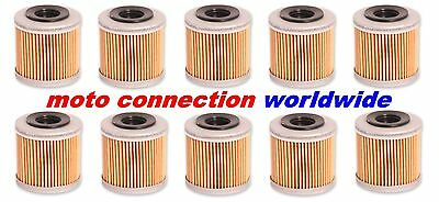 Pack Of 10 Rfx Oil Filters For Kawasaki Kxf250 2004 - 2017         Fxof 20100